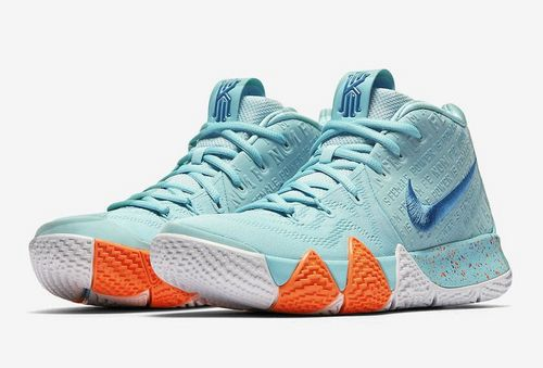 Pantofi De Basketball Nike Kyrie 4 Power Is Female Dama/Barbati în Turcoaz - Romania 41rr7i